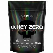 Whey Zero - 2000g Refil Vanilla - Black Skull