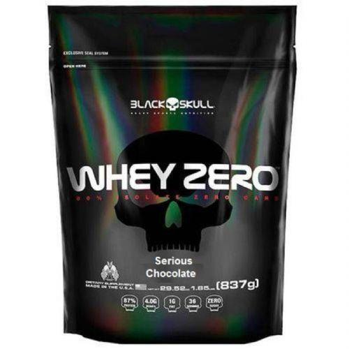 Whey Zero - 837g Chocolate - Black Skull no Atacado
