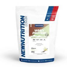 Whey Zero Lactose All Natural - 900g Baunilha - NewNutrition