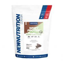 Whey Protein Zero Lactose All Natural - 900g Refil Chocolate - NewNutrition