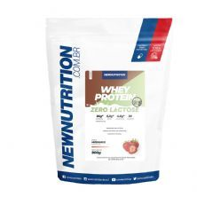 Whey Zero Lactose All Natural - 900g Morango - NewNutrition