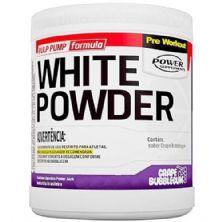 White Powder - 75g + 15 Cápsulas - Sabor Grape Bubblegum - Power Supplements