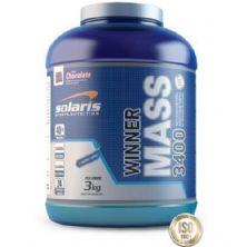 Winner Mass 3400 - Morango 3000g - Solaris Nutrition