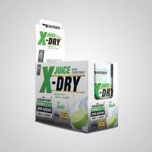 X-Dry Juice - 20 Sachês 10g Limão - Nutrata