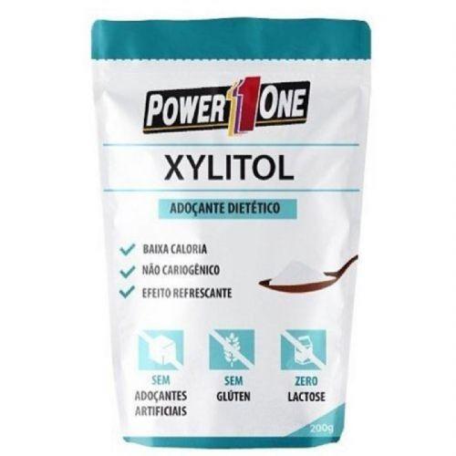 Xylitol - 200g - Power One no Atacado