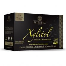 Xylitol - 50 Sachês 250g - Essential Nutrition