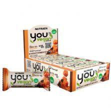 You Vegan Protein Bar - 10 Unidades 40g Cacau 70% Salted Caramel - Nutrata