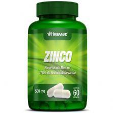 Zinco - 60 Cápsulas - Herbamed