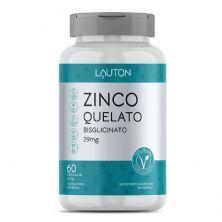 Zinco Quelato - 60 Cápsulas - Lauton Nutrition