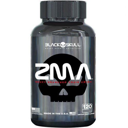 ZMA- 120 Cápsulas - Black-Skull no Atacado