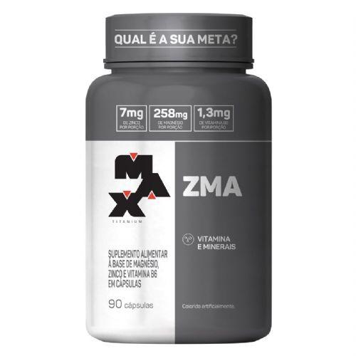 ZMA - 90 Cápsulas - Max Titanium no Atacado