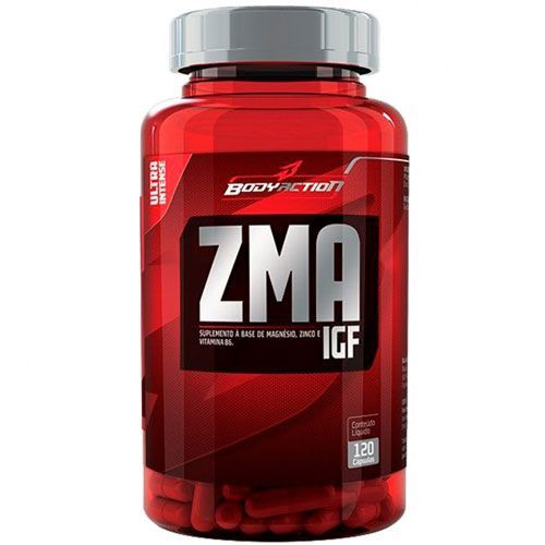 ZMA IGF - 120 Cápsulas - BodyAction