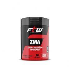 ZMA Zinco, Magnésio e Piridoxina - 90 cápsulas - FTW